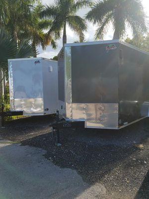 7x12 TA ENCLOSED TRAILER NEW 2019 for Sale in Miami, FL