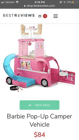 Barbie pop up camper for Sale in Avon, OH