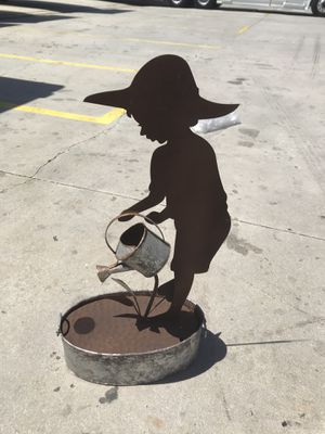 Boy silhouette water fountain for Sale in Bell Gardens, CA