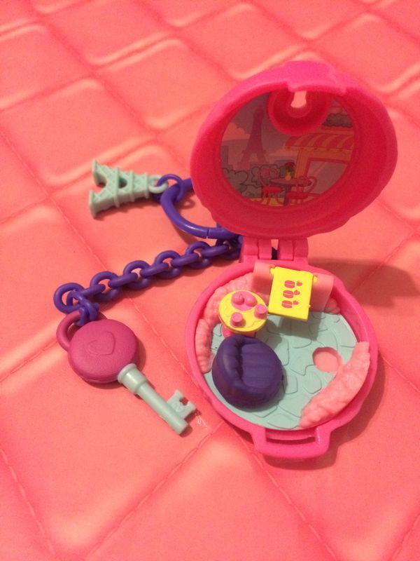 Toy shopkins mini burger playset paris eiffel tower