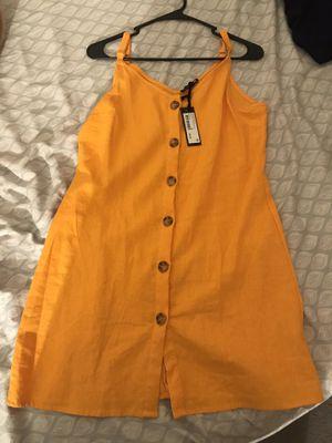 Yellow Slip Dress for Sale in Las Vegas, NV