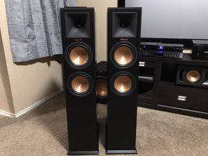 Klipsch RP-260f (pair) and Emotiva XDA (DAC) great deal must see for Sale in Arlington, TX