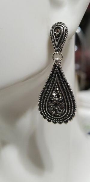 Chocolate diamond tear drop earrings for Sale in Aurora, CO