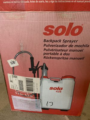Backpack sprayer 20.00 for Sale in Milford, MA