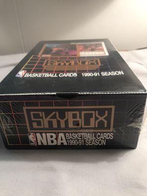 Skybox NBA unopened box 1990-1991 for Sale in Olalla, WA