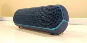 Sony SRS-XB22 Extra Bass Wireless Bluetooth Speaker (Blue) for Sale in Seattle, WA