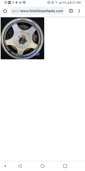 4 rims and tire for Sale in Nashville, TN