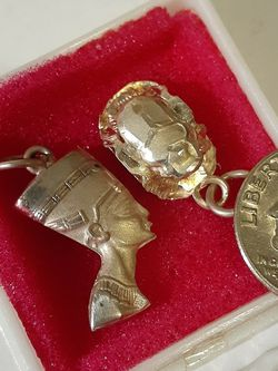 $20! Awesome Silver Egyptiian Necklace pendants for Sale in Tacoma,  WA