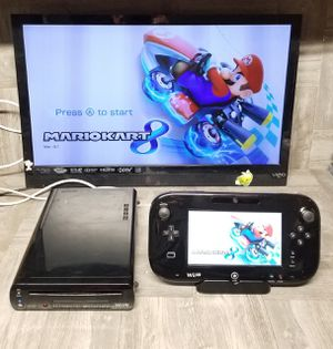 Nintendo Wii U Console Complete + 6 Games for Sale in Los Angeles, CA