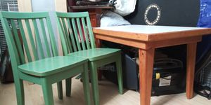 Kids table with chairs for Sale in San Francisco, CA