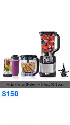 Ninja Kitchen System with Auto IQ Boost for Sale in Avondale, AZ