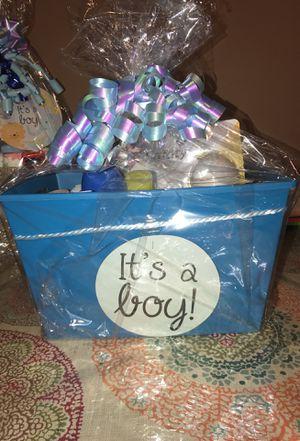 """""""Its a boy"""" bucket gift for Sale in Philadelphia, PA"""