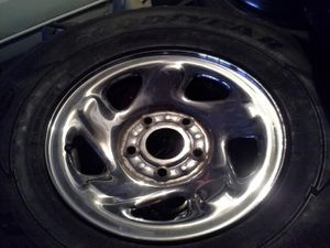 Universal Dodge truck rims & tires must go this weekend ! for Sale in Silver Spring, MD