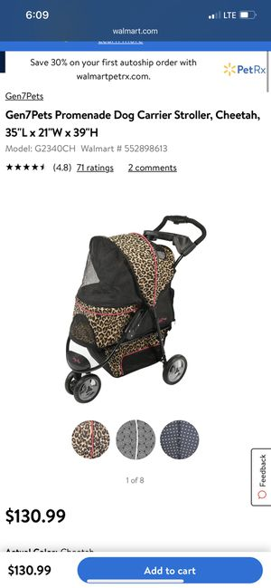 Gen7Pets Promenade Dog Carrier Stroller for Sale in Perris, CA