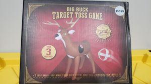 Inflatable Deer Velcro Ball Toss Game Gift for Sale in Norwalk, CA