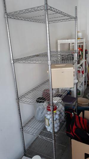 Metal shelves 30 dollars for Sale in Greenacres, FL