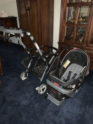Stroller w/ Car Seat & Base for Car seat for Sale in Schertz, TX