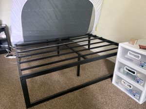 Full size bed frame and mattress for Sale in Columbus, OH