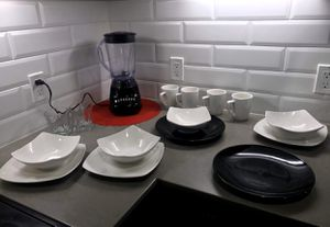 Set of dishes with cups and blender for Sale in Seattle, WA