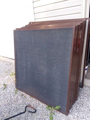 Large Aluminum Framed Screens for Sale in Cleveland, OH