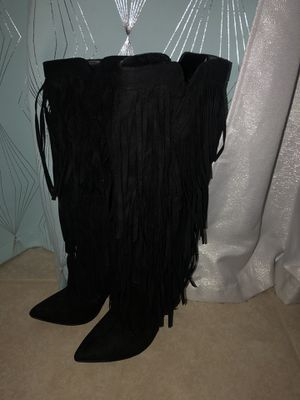 Fringe boots for Sale in Baytown, TX