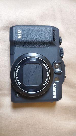 Canon G15 Camera for Sale in Palmetto, FL