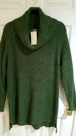 Andeawy Forest Green Scoop Neck Cozy Sweater XL for Sale in Silver Spring, MD