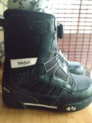 Kids thirty two snow boarding boots sz6 for Sale in Reddick, FL