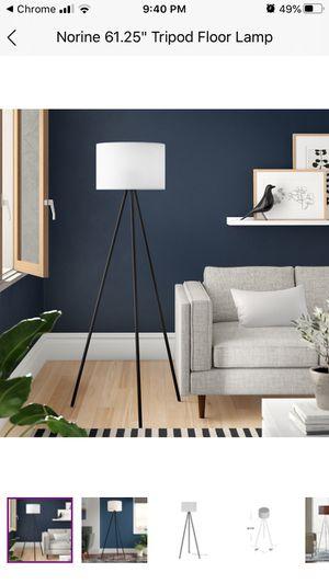 Modern Tripod Floor Lamp (Wayfair) for Sale in Long Beach, CA