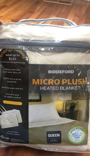Heated Blanket Queen for Sale in Washougal, WA