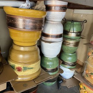 Clay Planters (PRICE VARY) Anaheim for Sale in Anaheim, CA