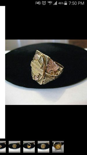 Mens Authentic Harley Davidson 10k Solid Yellow Gold Ring! for Sale in Pittsburgh, PA