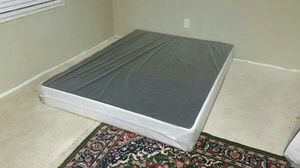 Queen size box spring new can deliver for Sale in Tampa, FL