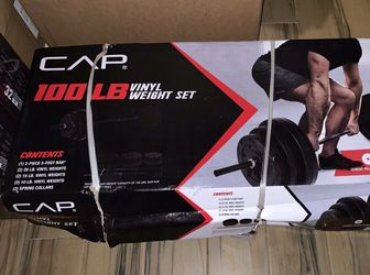 100 lbs Weight Set for Sale in Bowie,  MD