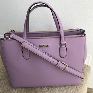 Kate Spade Leighann Lilac Petal Satchel for Sale in Florissant, MO
