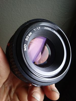 Minolta MD 50mm f1.7 Vintage Prime- CLEAN! for Sale in Chino, CA