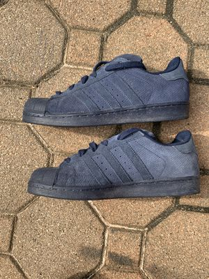 Authentic Adidas Superstars Suede US Size 7 for Sale in North Brunswick Township, NJ