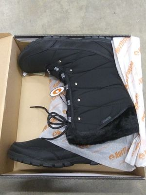 Black-Charcoal Waterproof Women Boots: Size :9 for Sale in Baldwin Park, CA