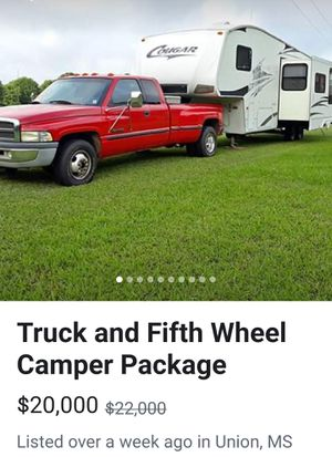 Truck and trailer for Sale in Starkville, MS