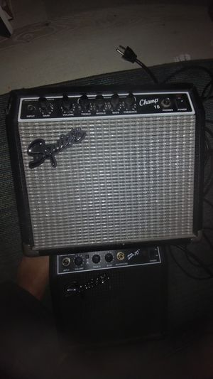 Squire amp champ 15. Also sp10 for Sale in Wildomar, CA