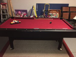 Pool table with tennis table for Sale in Davenport, FL