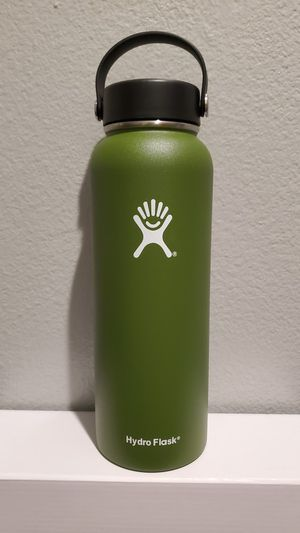 40 oz Hydro Flask Wide Mouth Vacuum Water Bottle for Sale in Ontario, CA
