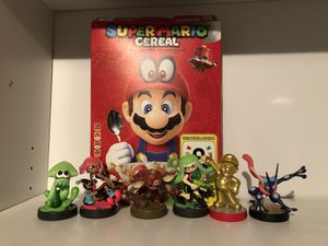 AMIIBOS FOR NINTENDO SWITCH for Sale in Bakersfield, CA
