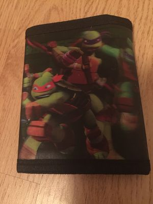 Ninja Turtle Wallet for Sale in Fresno, CA