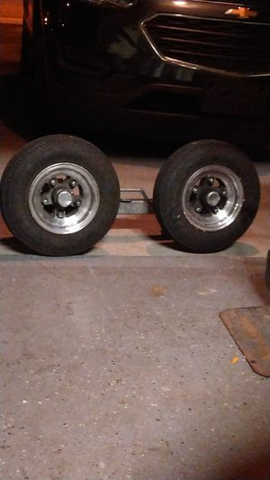 Caravan speakers dj equipment a windor art product and towing jack for Sale in Riverside, CA