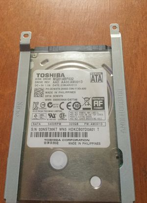 Toshiba 500gb Disk Drive for Sale in Waldorf, MD