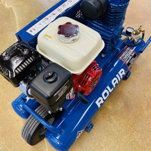 ROLAIR 6.5 HONDA GX GAS POWERED AIR COMPRESSOR LIKE NEW for Sale in Portland, OR