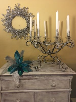 Antique 8 candle candelabra for Sale in Clermont, FL