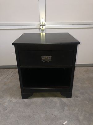 End Table Black for Sale in Bend, OR