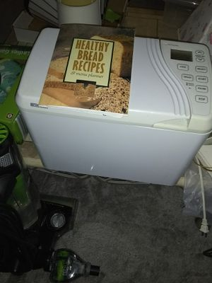 Kenmore bread maker with recipe book for Sale in Fort Belvoir, VA